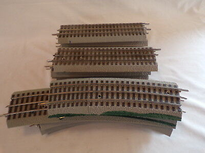 16 Misc Lionel Fastrack Curve Straight Train Track Layout Accessory