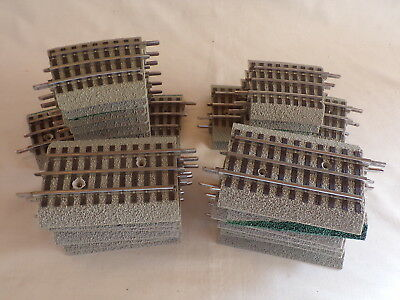 25 Pics LIONEL FASTRACK SHORT STRAIGHT CURVE TRAIN TRACK LAYOUT ACC
