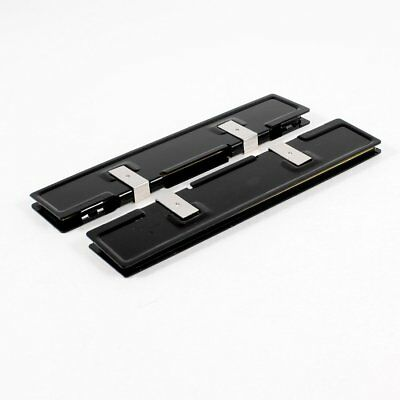 2 x Aluminum Heatsink Shim Spreader for DDR RAM Memory WS E4Y7