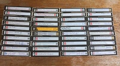 LOT OF 40 BETAMAX BETA TAPE W/ ORIGINAL TV Films Commercials USED SOLD AS BLANKS