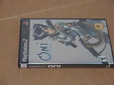 Oni (2004) Sony PlayStation 2 PS2 - COMPLETE CIB & TESTED!
