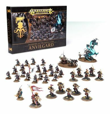 Warhammer Age of Sigmar: Warriors of the Great Cities: Anvilgard GWS 64-60