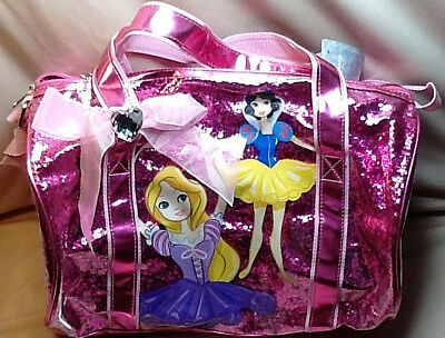 Disney Princess Ballet/duffle Bag, Hot Pink, 14 X 11 X 6, New With Tags