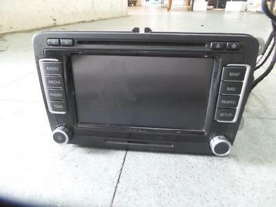 Volkswagen Passat Radio/cd/dvd/sat/tv Touch Screen Navigation (Rns510), 3C/mk6,