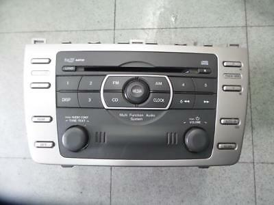 Mazda 6 Radio/cd/dvd/sat/tv Factory, In Dash Stacker, Non Bose Type, Gh, 02/08-1