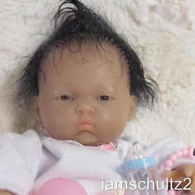 "Precious Ethnic Asian Berenguer Reborn Mini 9"" Preemie Newborn Baby Doll"