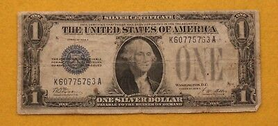 1928 A $1 Silver Certificate Funny Back! K60775763A