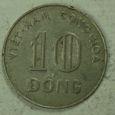 Vietnam (South) 1968 10 Dong Coin