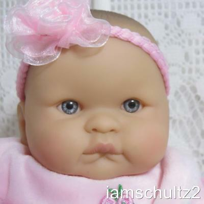 "ADORABLE Berenguer Chubby Sucky Lip 8"" Mini Preemie Newborn Baby Doll"