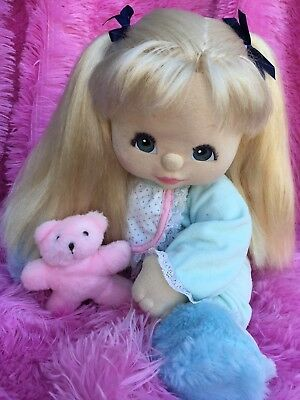 LAST blond UL ~ Charcoal ~ Blue Eyes ~ ALL AUTHENTIC CLOTHING PLUS RARE MC BEAR