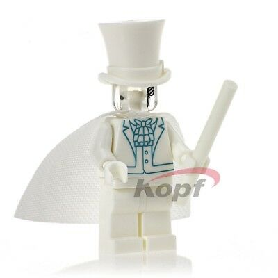 Gentleman Ghost minifigure toy movie  comic Movie TV DC Jim Craddock Invisible