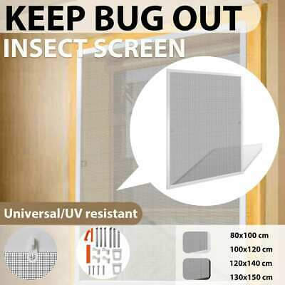 vidaXL Insect Window Fly Mosquito Bug Mesh Screen Fibreglass Net Multi Sizes