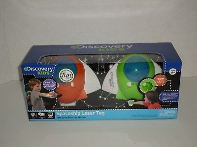 Discovery Kids Spaceship Laser Tag Infrared Blaster Game NEW