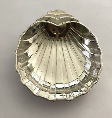 Vintage Sterling Silver Clam Shell Dish - 27g, Not Scrap (Hallmarked & Signed)