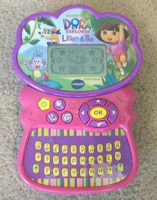Nick Jr Dora The Explorer Vtech Learn & Go Handheld Game Console System Viacom