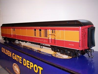 NIB Golden Gare Depot HW (3) Car Head End Set FacPtd SP Daylight Scheme  2 Rail