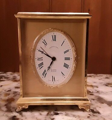 Vintage Brass-  Bailey, Banks & Biddle Carrage Clock - Small