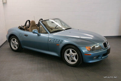 1998 BMW Z3 Roadster Convertible 2-Door BMW Z3 Roadster Automatic Transmission Leather 68278 Miles