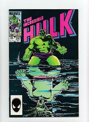 Incredible Hulk #297 Bill Sienkiewicz Cover (Marvel 1984) NEAR MINT-