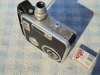 "MEOPTA  ""ADMIRA"" 8""E"" WIND UP SPRING DRIVE MOVIE CAMERA VINTAGE 1960s 8mm"