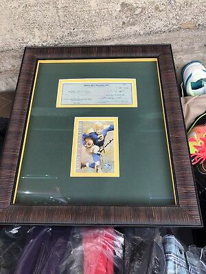 Vincent Lombardi And Tony Canadeo Signed Autograph Green Bay Packer