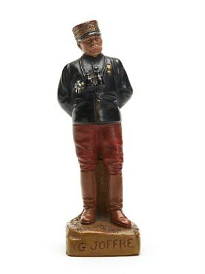 Rare Fontaine & Durieux Joffre Figure By F Foucher C.1914