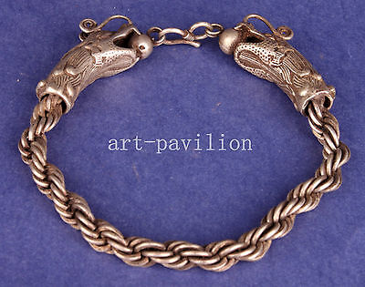 Cupronickel China Bracelet Dragon Collection Decorations Exquisite