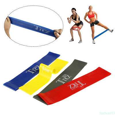Resistance Band Available Latex Gym Strength Training Loop Fitness Equipment OS9