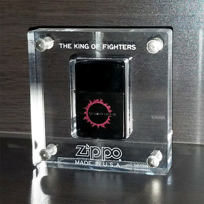 SNK King of Fighters 96 97 98 XIV Kusanagi Kyo Limited Zippo Display Set Promo