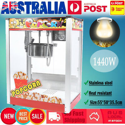 1440W Popcorn Machine Popper Popping Classic Cooker Maker Microwave 8oz 3 Switch