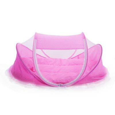 Baby Bed Crib Mosquito Net Pillow Portable Folding Tent Cushion Mattress Travel
