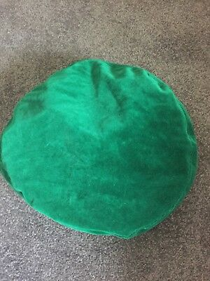 Vintage Hat Made In England Emerald Green