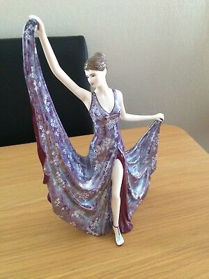 "Royal Worcester ""Dancing By Moonlight"" Figurine"