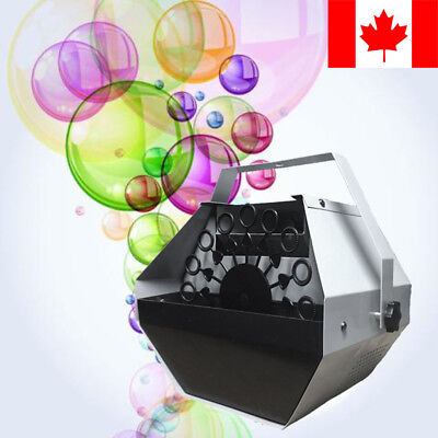 CAN Automatic Bubble Machine Professional Indoor Outdoor Party Fun Adults Kids