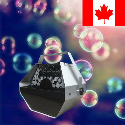 New Bubble Machine Remote Contol Stage Parties Effect Equipment Special Effects