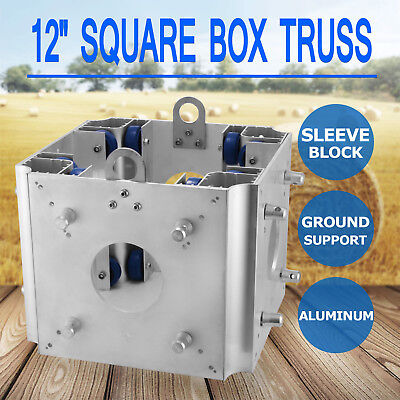 12'' Aluminum Square Box Trussing Fits F34 Global Truss Ground Support Block
