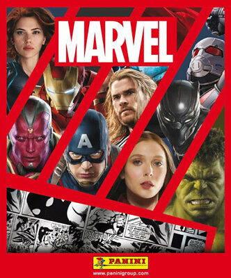 Panini Trading Cards Marvel 2017 80  Cards no duplicates