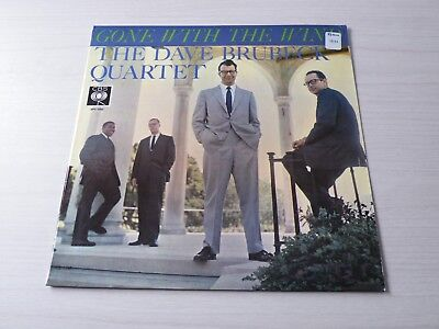 Dave Brubeck Quartet Gone With The Wind Lp Uk Cbs '59 Mono Early Press Top Copy