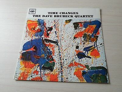 The Dave Brubeck Quartet Time Changes Lp Uk Cbs 1964 Mono Early Press Top Copy