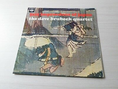 Dave Brubeck Quartet Jazz Impressions Of Japan Lp Uk Cbs 1964 Mono Early Press