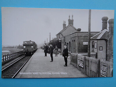 Woodbury Road  Exton Station  Postcard  Mint  Condition Un-Posted