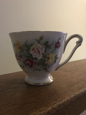 Country Gardens By Queen Anne Bone China Tea Cup