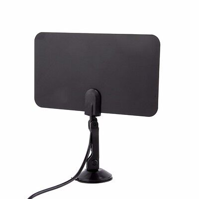 Thin Flat Indoor Antenna HD High Def TV Fox Scout HDTV DTV TVScout TVFox