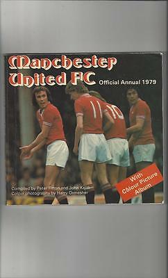 Manchester United Official Football Annual 1979