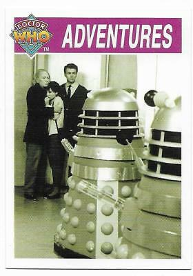 1995 Cornerstone DR WHO Base Card (115) Adventures