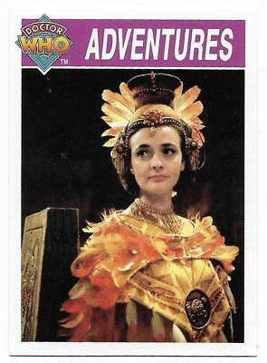 1995 Cornerstone DR WHO Base Card (116) Adventures