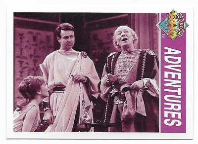 1995 Cornerstone DR WHO Base Card (119) Adventures