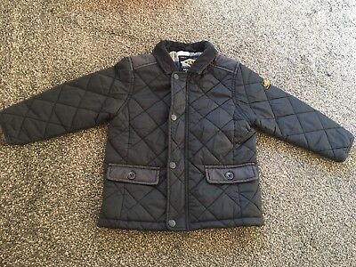 Next Boys Quilted Coat Size 2-3 Years