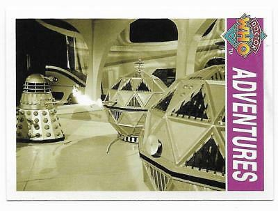 1995 Cornerstone DR WHO Base Card (121) Adventures