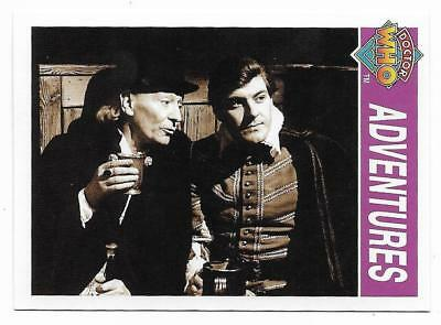 1995 Cornerstone DR WHO Base Card (124) Adventures